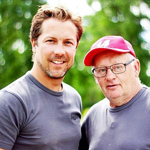Snickarna Matte och Willy från tv-programmet Bygglov